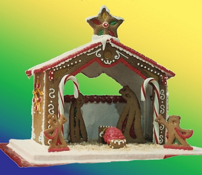 Gingerbread House manger