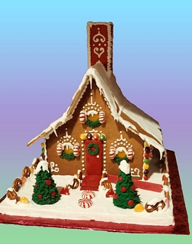 Gingerbread House swiss chalet