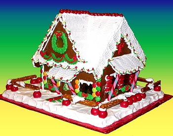 toy store gingerbread house lighted gingerbread house with lights